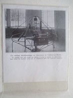 CHALONS SUR MARNE - Manège Aérodynamique D'essais De HELICES D'AVIONS -  Coupure De Presse De 1933 - GPS/Avionics