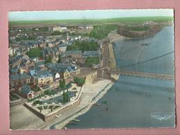 CPSM Grand Format - La France Vue Du Ciel..18 ...Ancenis -(L.-Atl.)- Le Pont Sur La Loire Reliant L'Anjou à La Bretagne - Ancenis
