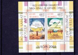2003 - Europa Cept - Turkish Republic Of Northern Cyprus / Türkisch-Zypern / Chypre Turc  N° YT 20** - 2003