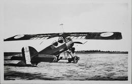 CPA. Carte-Photo > Entre Guerres > ISTRES-AVIATION - Avion MORANE Transformé En Rouleur - TBE - 1919-1938: Entre Guerres