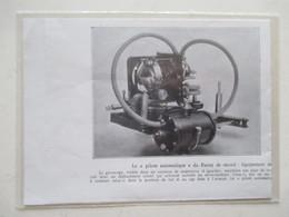 GYROSCOPE Pour Pilote Automatique D'avion  -  Coupure De Presse De 1933 - GPS/Avionique