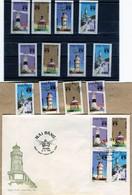 Vietnam 1992  1FDC + 12 Francobolli Lighthouses/fari   Nuovi - Vietnam