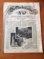 Österreich Zeitung Mit Zeitungsmarke 1899 - 1850-1918 Impero