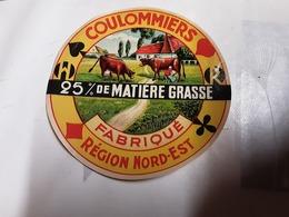 Coulommiers Fabriqué  Région  Nord Est - Fromage