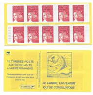 Carnet 3419-C3Ad Luquet Sans Phosphore Avec Numéro - Freimarke