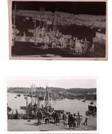 Photo Douarnenez Débarquement Sardines 1939 - Places