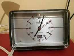 RÉVEIL ELECTRIQUE JUNGHANS SYNCHRO-VOX-RÉPÉTITION-GERMANY- A RÉPARER - Alarm Clocks