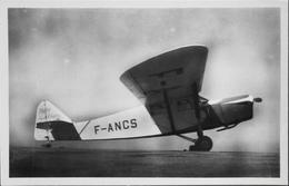 "CPA. Carte-Photo > Entre Guerres > ISTRES-AVIATION - Avion De Tourisme CAUDRON ""PHALENE"" - En TBE - 1919-1938: Entre Guerres"