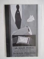 Montres De Luxe   - Coupure De Presse De 1932 - Montres Haut De Gamme