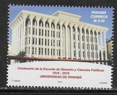 PANAMA, 2019, MNH, EDUCATION, LAW SCHOOL, SCHOOL OF LAW AND POLITICAL SCIENCES, 1v - Stamps