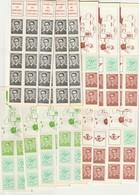 Lot De 76 Carnets - Postzegelboekjes 1953-....