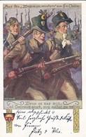 AK Wehrmannslieder H. V. Collin - Wenn Es Nur Will, Ist Östreich Stark... - Schulverein Rot-Kreuz-Sammlung 1914  (47174) - Muziek En Musicus