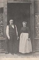 CPA - Mr Et Mme Poulard Ainé  Restaurateurs Au Mont Saint Michel - Hotels & Restaurants
