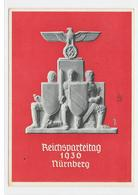 DR Deutsches Reich Propaganda Postkarte 1936 Reichsparteitag Der NSDAP Nürnberg 14.9.36 - Germany