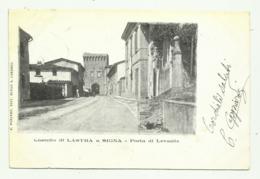 CASTELLO DI LASTRA A SIGNA - PORTA DI LEVANTE   VIAGGIATA  FP - Scandicci