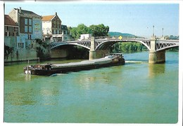 PENICHE - LA FERTE SOUS JOUARRE - Bords De Marne - Péniches