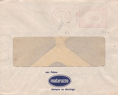 """""""MATARAZZO"""" ARGENTINA COMMERCIAL COVER, CIRCULATED 1972 FROM BUENOS AIRES, FRANQUEO PAGADO -LILHU - Storia Postale"""