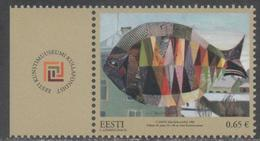 ESTONIA, 2016, MNH,ART MUSEUM, FISH,1v - Museums