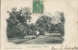 VIET-NAM - Saïgon - Vue Au Jardin Botanique - 1906 - Vietnam