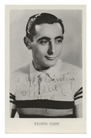 CARTE CYCLISME FAUSTO COPPI CHAMP. MONDE 1953 - Wielrennen