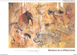 """"""" ANIMAUX DE LA PREHISTOIRE """"  Sur Document Philatélique Officiel De 4 Pages De 2008. N° YT BF 119. Parfait état. DPO - Préhistoire"""