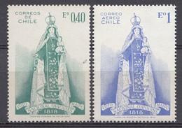 CHILI 1970  Mi.nr. 736-737 Nationalvotum..    NEUF Sans CHARNIERE / MNH / POSTFRIS - Chili