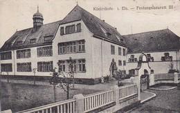 AK Königshofen Im Elsass - Festungslazarett III - Feldpost 1. WK   (47178) - Elsass