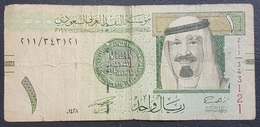 OA - Saudi Arabia 1 Riyal Banknote 1428 Hijri #343121/211 - Arabie Saoudite