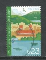 Noorwegen, Yv  Jaar 2019,  Hogere Waarde, Gestempeld - Norvège