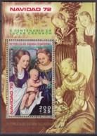 ÄQUATORIAL-GUINEA  Block 42, Gestempelt, Weihnachten: Madonnengemälde Von Lucas Cranach D. Ä., 1972 - Äquatorial-Guinea