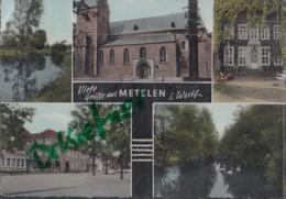 Grüße Aus Metelen, Colorierte Karte Um 1960 - Steinfurt