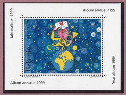SCHWEIZ  Vignette 1999: 150 Jahre Post, Aus: Jahrbuch 1999 Der Schweizer Post - Vignetten (Erinnophilie)