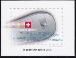 SCHWEIZ  Vignette 2005: MMS-Briefmarken, Aus: Jahrbuch 2005 Der Schweizer Post, Swiss Mobil - Erinnophilie