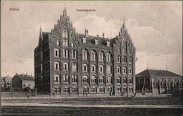 ! Alte Ansichtskarte Aus Peine, Lessingschule, 1916, Schulgebäude, Niedersachsen - Peine