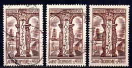 1935 FRANCE ST. TROPHIME ARLES 3x Sets MICHEL: 298 USED - Gebraucht