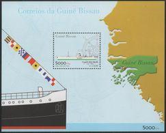 2001 Guinea-Bissau - Ship Rita Maria Minisheet 1v, Schiffe, Boats ,Bateaux, Barcos Map Block 337  MNH - Schiffe