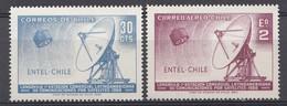 CHILI 1969  Mi.nr. 702-703 Bodenempfangstation ENTEL   NEUF Sans CHARNIERE / MNH / POSTFRIS - Chili