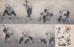 Postcard La Lutte [ Wrestling ] PU 1904 My Ref  B13936 - Wrestling