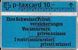 Switzerland: PTT KP-93/207 311L Schweizer Privatversicherungen - Svizzera