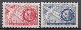 CHILI 1968  Mi.nr. 689-690 Automobilclub  NEUF Sans CHARNIERE / MNH / POSTFRIS - Chili