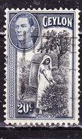 Ceylon 1938 -Usato - Ceylon (...-1947)
