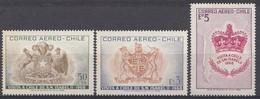 CHILI 1968  Mi.nr. 691-693 Staatsbesuch Der...  NEUF Sans CHARNIERE / MNH / POSTFRIS - Chili