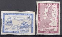CHILI 1968  Mi.nr. 687-688 Städte Gründungen... NEUF Sans CHARNIERE / MNH / POSTFRIS - Chili