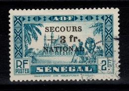 Senegal - YV 176 Oblitere , Secours National Cote 10 Euros - Oblitérés