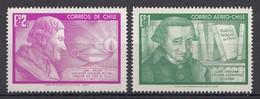 CHILI 1968  Mi.nr. 683-684 Zu Ehren Molinas  NEUF Sans CHARNIERE / MNH / POSTFRIS - Chili