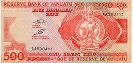 VANUATU=N/D   500  VATU    P-5    UNC - Vanuatu