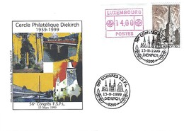 Luxembourg  -  FDC  -  13.III.1999 - Cercle Philatélique Diekirch  1959-1999 - FDC
