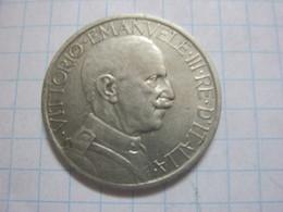 2 Lire 1924 - 1900-1946 : Victor Emmanuel III & Umberto II