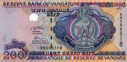 VANUATU=N/D   200  VATU    P-8    UNC - Vanuatu