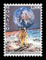 Monaco 2019 Mih. 3462 Space. Apollo 11. Moon Landing MNH ** - Neufs
